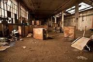 Sector 54 led Riley and  his Dad through the abandoned warehouse