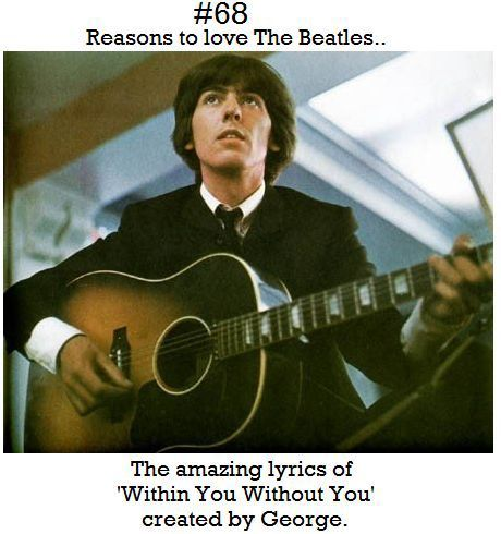I'm pretty sure it should be the number 1 reason to love the Beatles