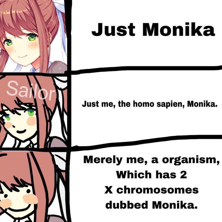 No Bulli Doki Doki Memes And Jokes Club Increasingly Verbose