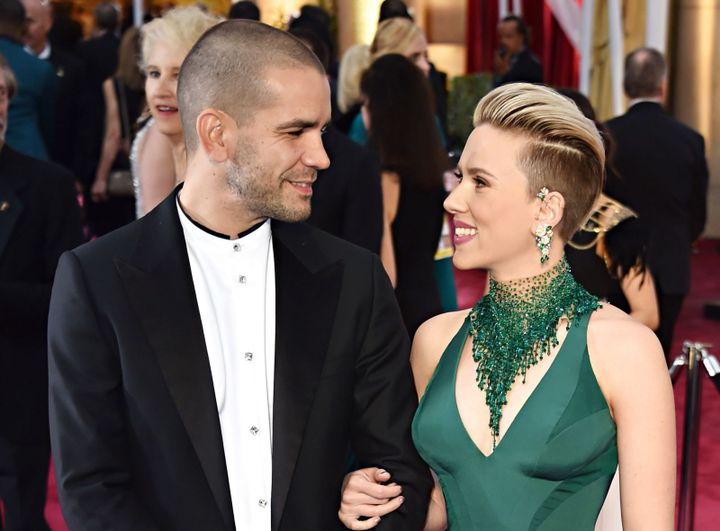 Is the couple, Scarlett Johansson and Romain Dauriac back together?