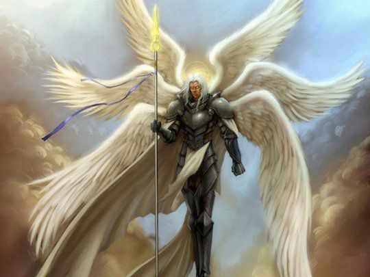 Lucifer được miêu tả là một thiên thần với 3 đôi cánh