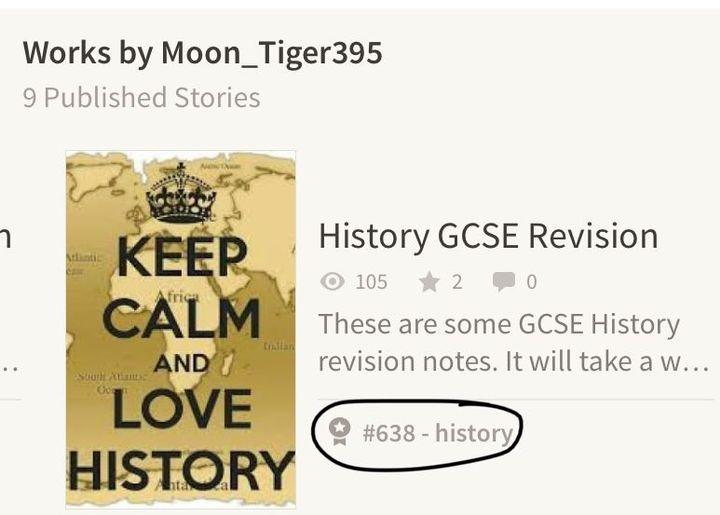 History GCSE Revision - Thank youuuuu - Wattpad