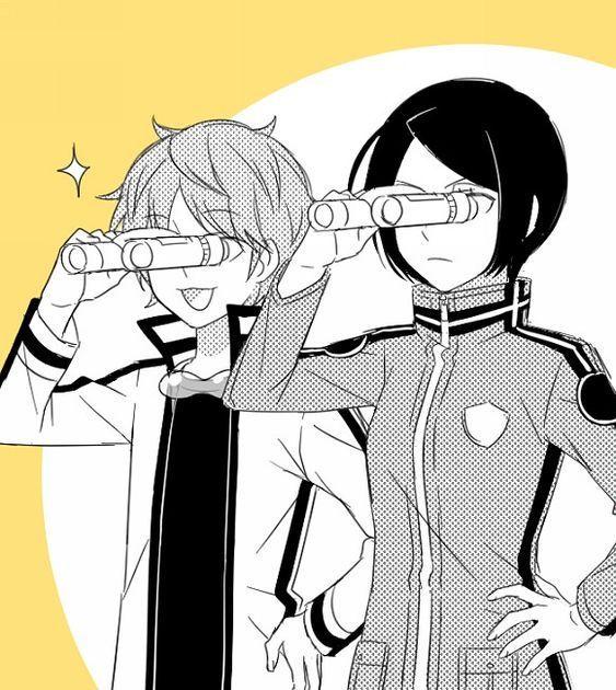 Midorikawa and Kitora legit the whole time: