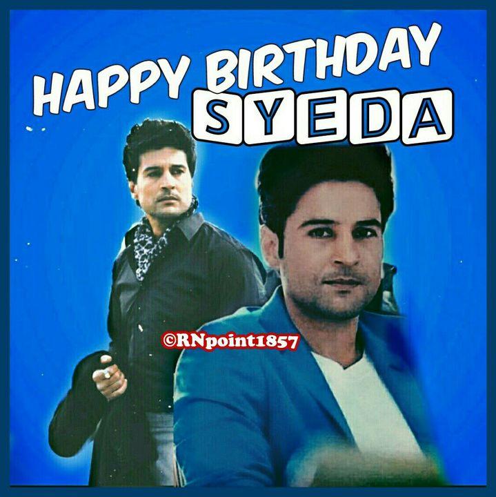Happyyyyy wala Birthday to youuuu Syedaaaaa ✨🎈🎉🎇🎆🎁🎁🎁🍫🍬🍭🍰🎂🎂🎂🎂🎂 Syeda4you 😍😍😍😍