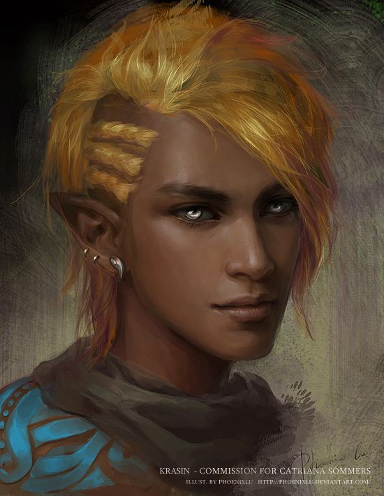 A/N: How I pictured the treasure hunter elf
