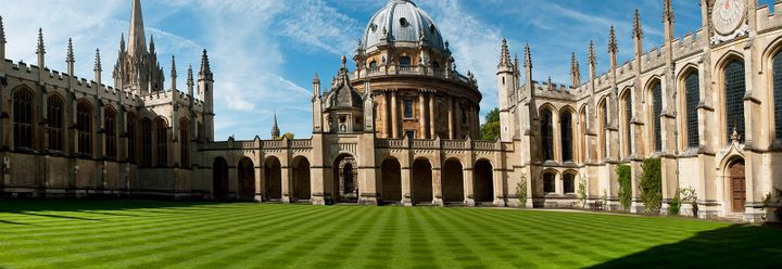 Oxford and Cambridge remain the UK's most famous educational establishments, and until 1832, they were the only ones