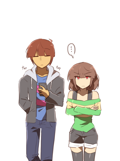 Male Chara X Reader X Male Frisk Discontinued Getting