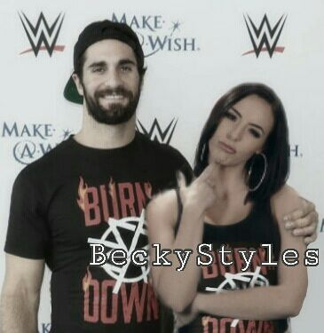 Image result for peyton royce and seth rollins