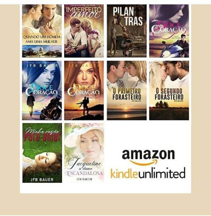 Quem quiser conhecer meus romances é só dar uma chegadinha na Amazon!