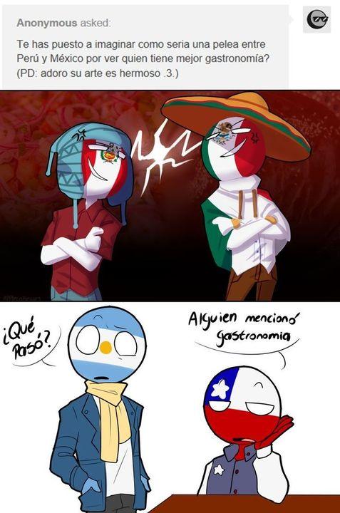 Leí en los comentarios que alguien quería que apareciera Perú y pues aquí está