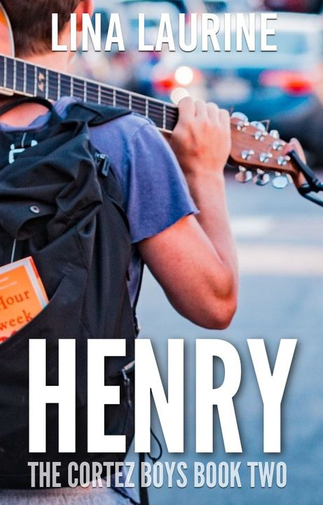 """I think it's time to start wrapping this post up but first, as a small bonus, I want to show you the covers for the other two books in the series: """"Henry"""" and """"Leonardo"""":"""