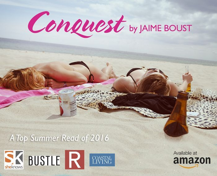 Friends of Brie, please help make Conquest a success by recommending it to your friends as great summer reading