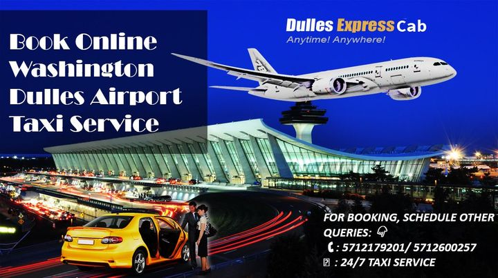 Dulles Express Cab - Book Online Washington Dulles Airport