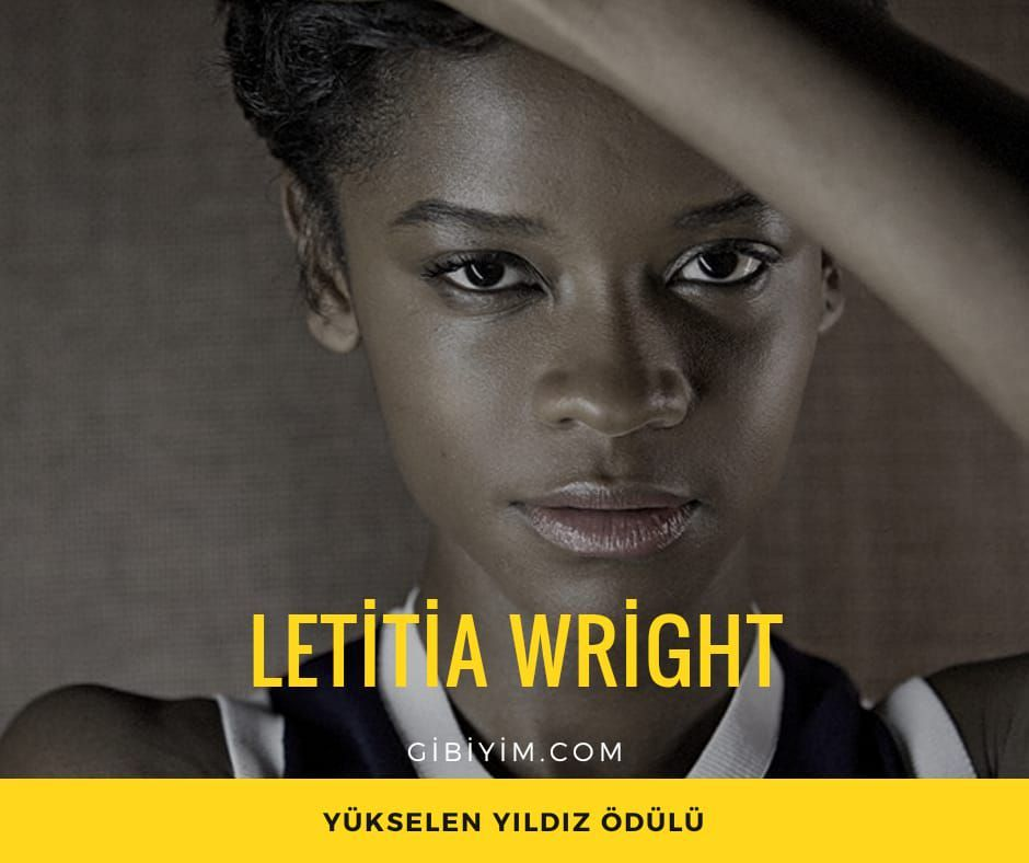 "Letitia Wright, ""Black Panter"""