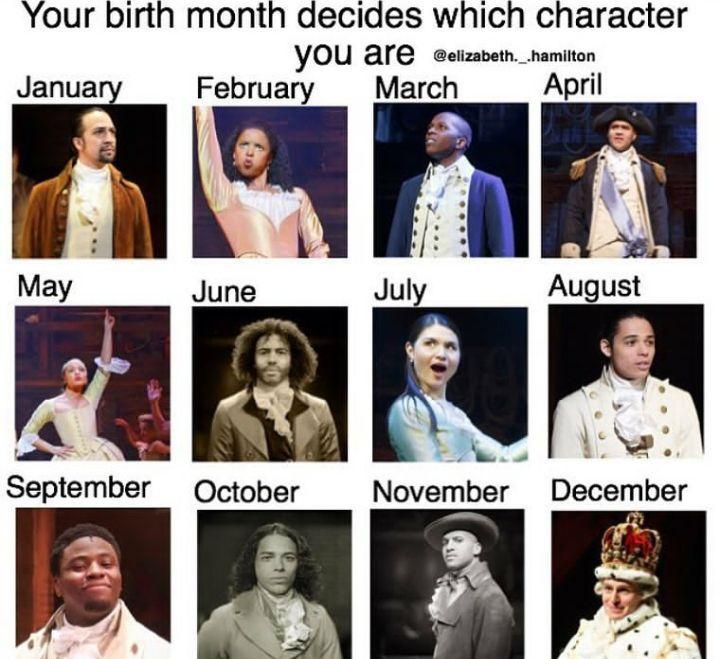 Hamilton Memes 2 (COMPLETED) - Birth Month - Wattpad