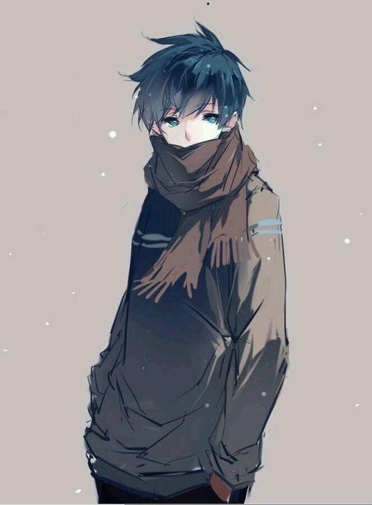 Anime Boy Gray Hair Lockindo