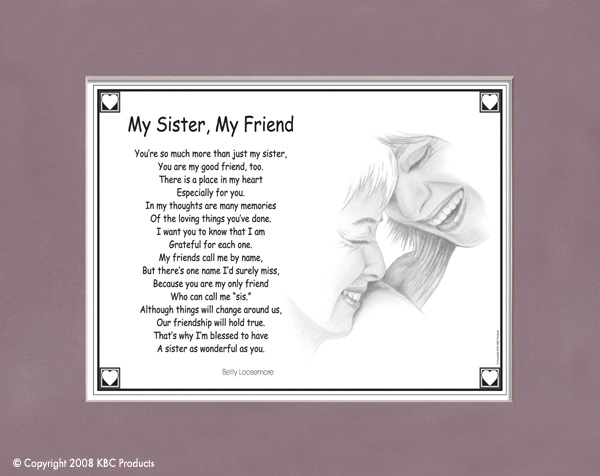 Sisters Poems And Quotes Poems And Quotes About Sisters