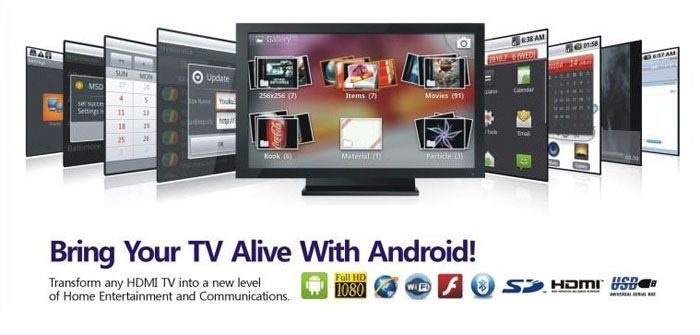 You will not receive any kind of OTA updates on a clever TV, while on the TV boxes that work on Android os could upgrade applications, menus and much more all by OTA (over the air updates