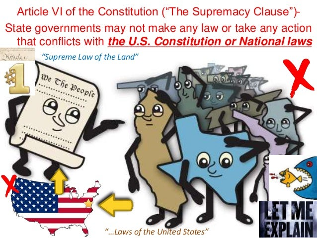article vi for all the people constitution figures out which usually u . s . legislations is