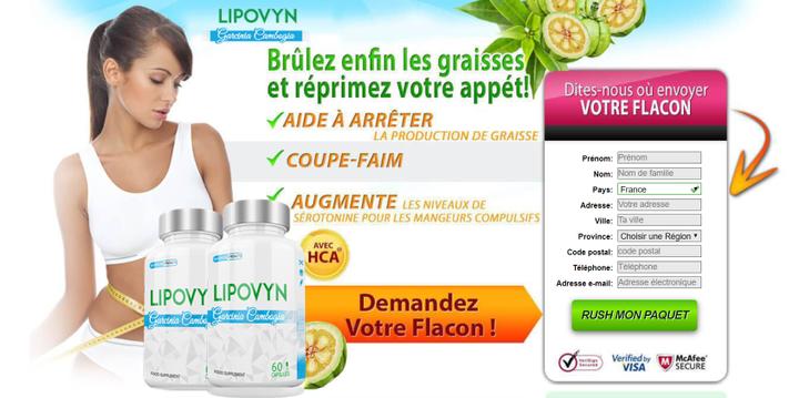 Lipovyn Garcinia Cambogia is a 100% natural Lipovyn weight loss supplement