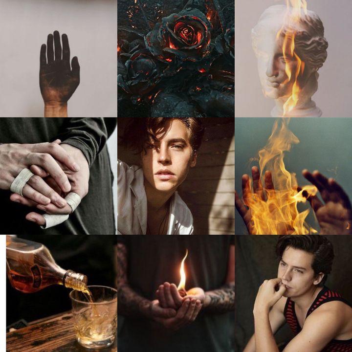 god of metalworking, fire, vulcanoes and sculptures