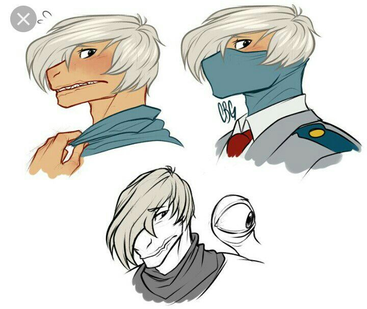 My Hero Academia X Reader Oneshots The Mask Shoji X Reader