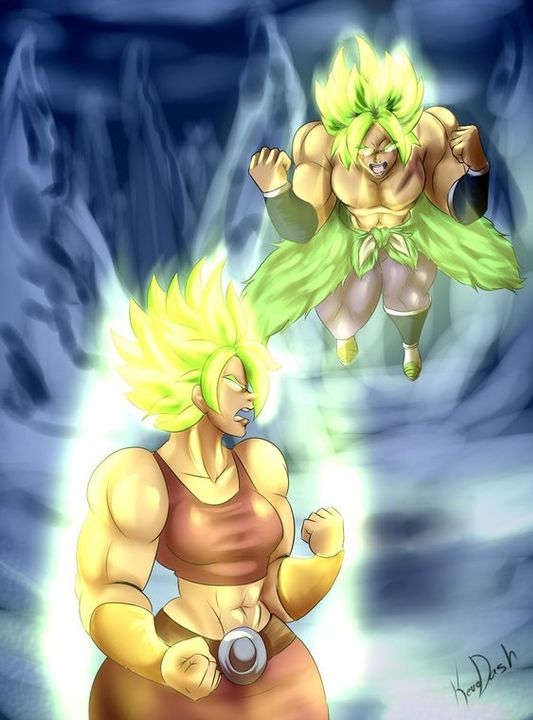 Broly And Kale Kale From Dbs Dragon Ball Dragon T