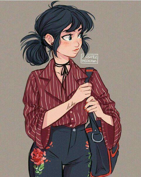 Personagens Para Historia Fechado Meninas Tumblr Desenho