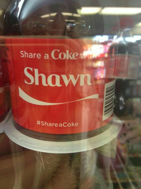 """Again, not really a meme but still, I forgot about the whole """"Share a coke with"""