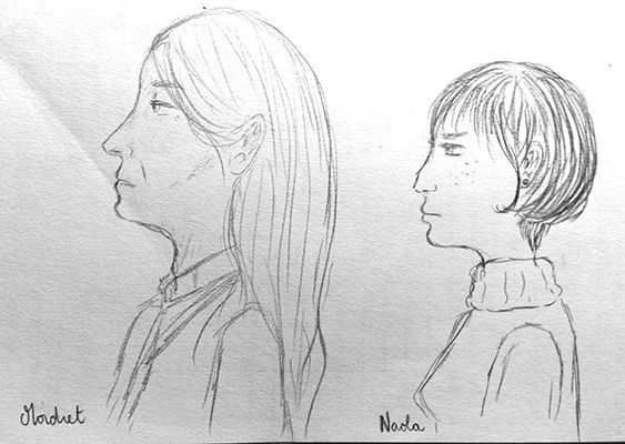 Mordret et Naola par Poypote