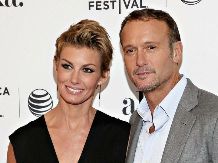 Here is Poppy's Parents - Played by Tim McGraw and Faith Hill