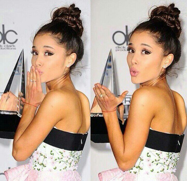 Sasya as Ariana Grande