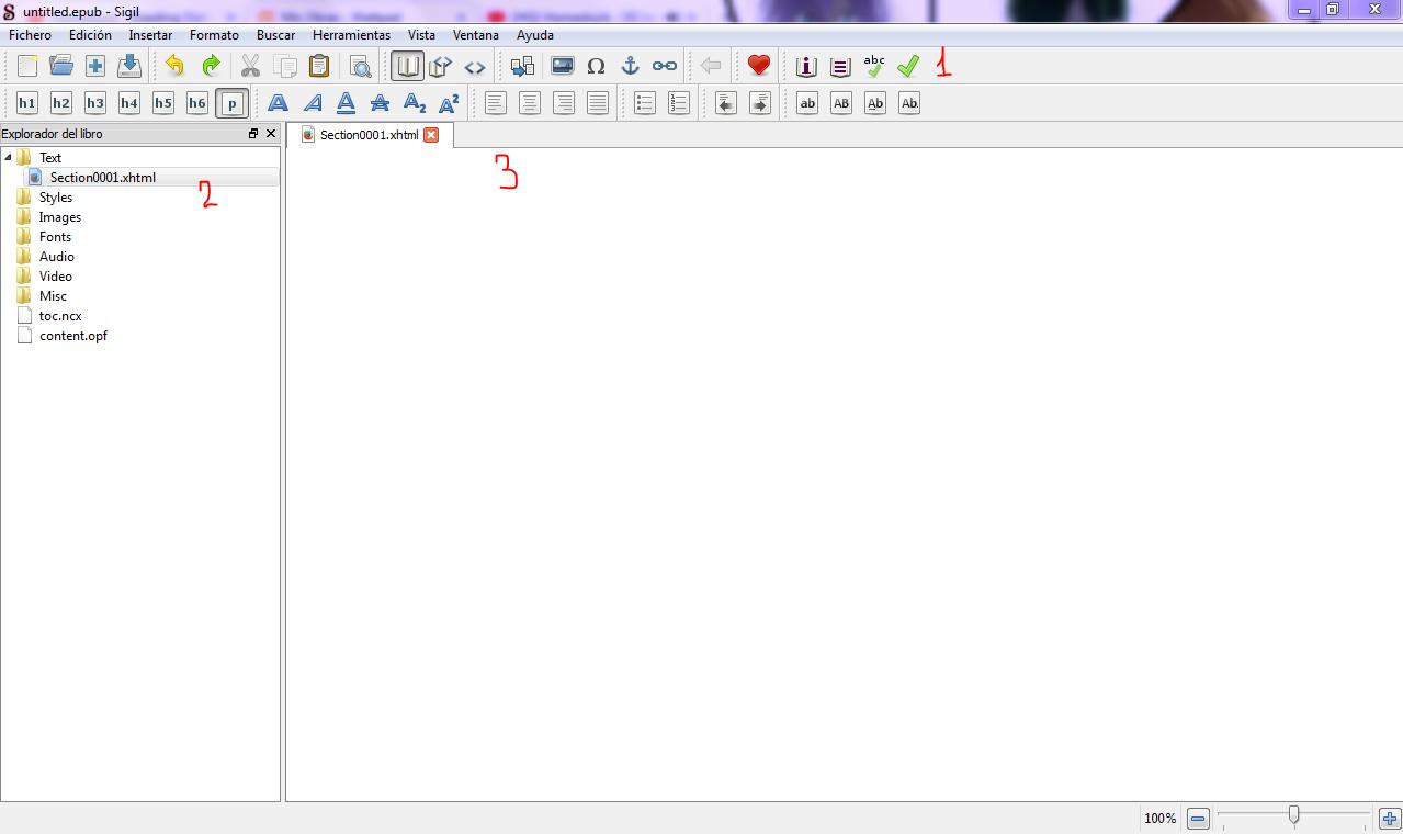 Una vez descargado, al abrirlo os tiene que salir una pantalla como esta: