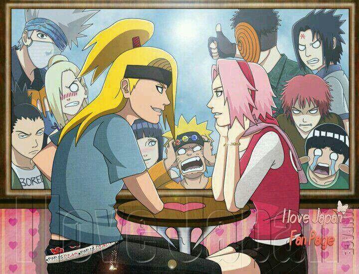Sakura S Picture Book Sakura And Deidara Wattpad