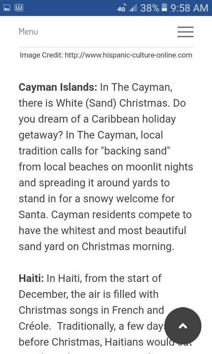 🌴💚 Caribbean Linkup 💚🌴 - Christmas in the Caribbean