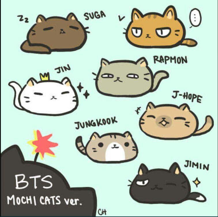 bangtan kitties bts x reader   chapter 1 kitty cats