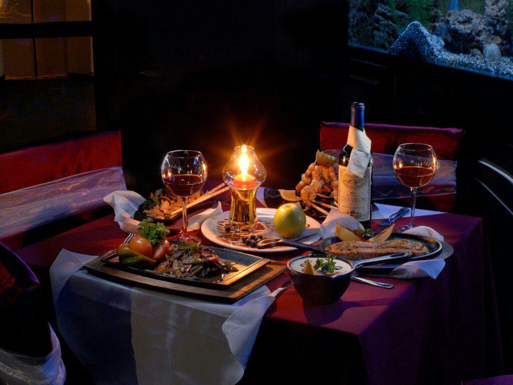 Тебе вечера, картинки столик на двоих