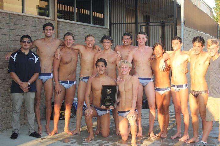 Boys swim shower age development