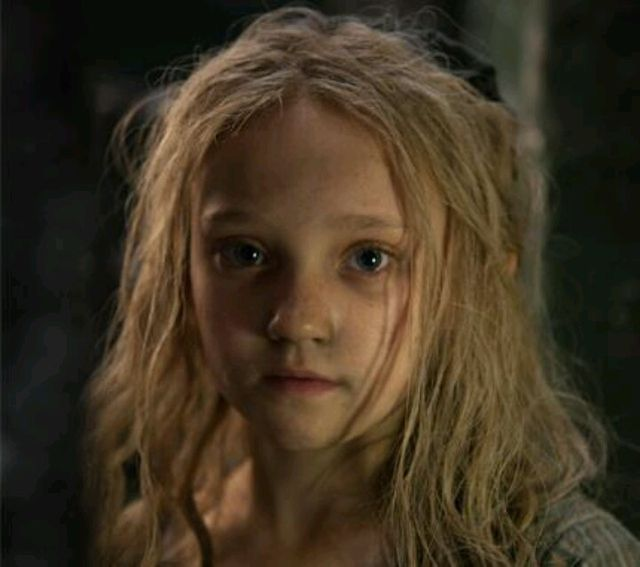 (Tommy's sister Cosette)