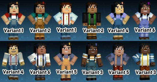 Fanfictional Warrior S Minecraft Story Mode Fanart 12 Days Of