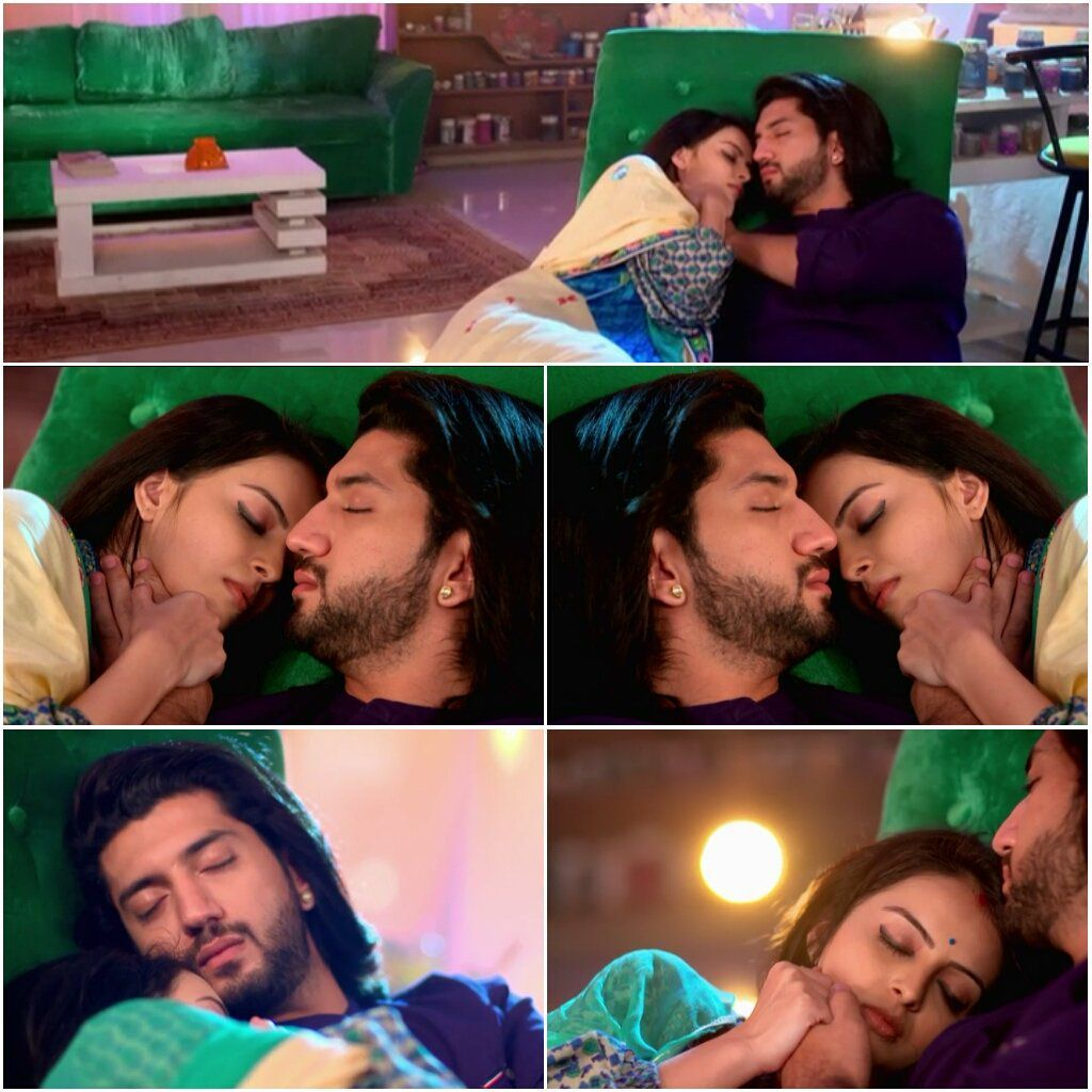 Soon both rikara were peacefully sleeping with gauri's head on Om's chest and his one hand holding her small hand never wanting to let it go and the other was on her baby bump where his child or princess was sleeping for the next eight months