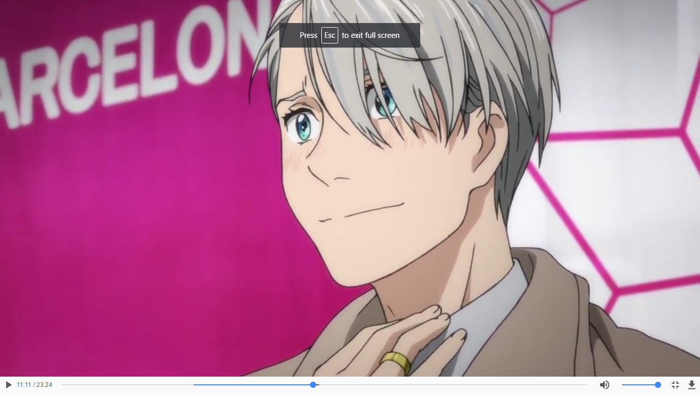 YURI LANDED VIKTOR'S SIGNATURE MOVE AND BROKE HIS FS RECORD IN THE PROCESS (Viktor's face after Yuri landed the jump I'm going to cry-)