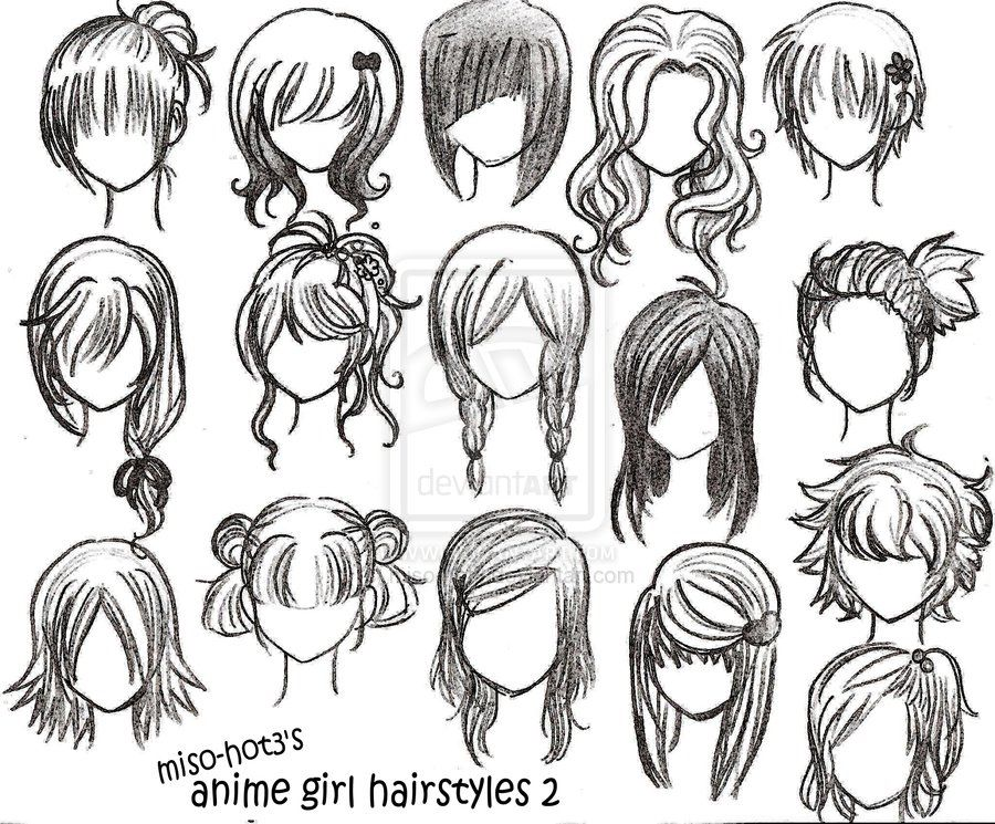 Peinados Anime Www Imagenesmy Com
