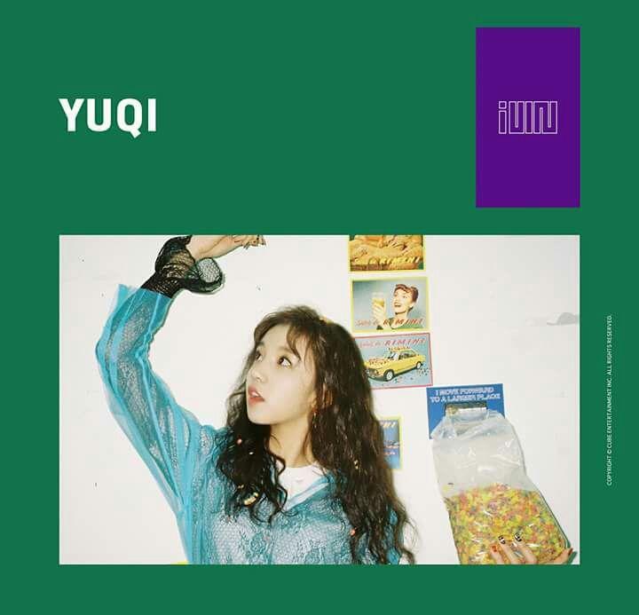 g i-dle profile - yuqi