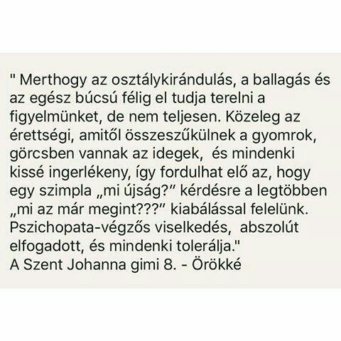 szent johanna gimi 8 idézetek Kedvenc idézeteim / BEFEJEZETT/   Leiner Laura A szent Johanna