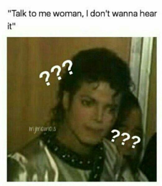 Talk to me woman