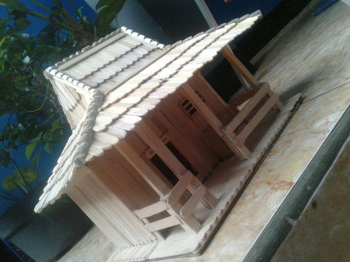 Edukasi Rumah Adat Joglo Dari Stik Eskrim Wattpad