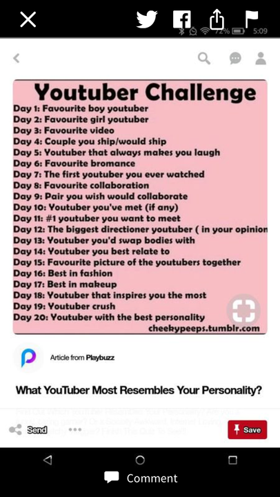 Day 5: Jacksepticeye! Jack/Sean is hilarious! I love him so much