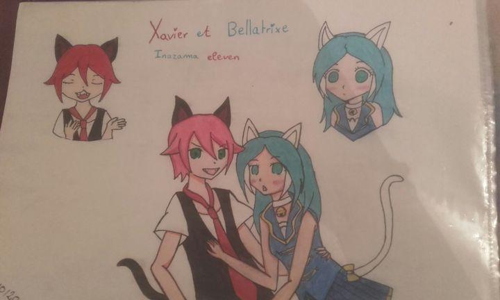 Draw Manga And Kpop Inazuma Eleven Xavier Et Bellatrix Wattpad
