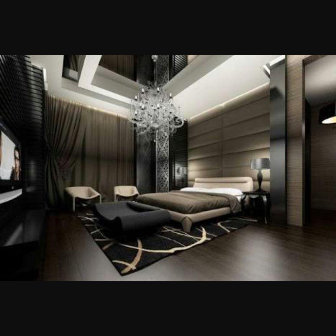 Дизайн модной комнаты